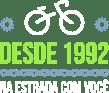 selo Bike Center desde 1992 na estrada com você