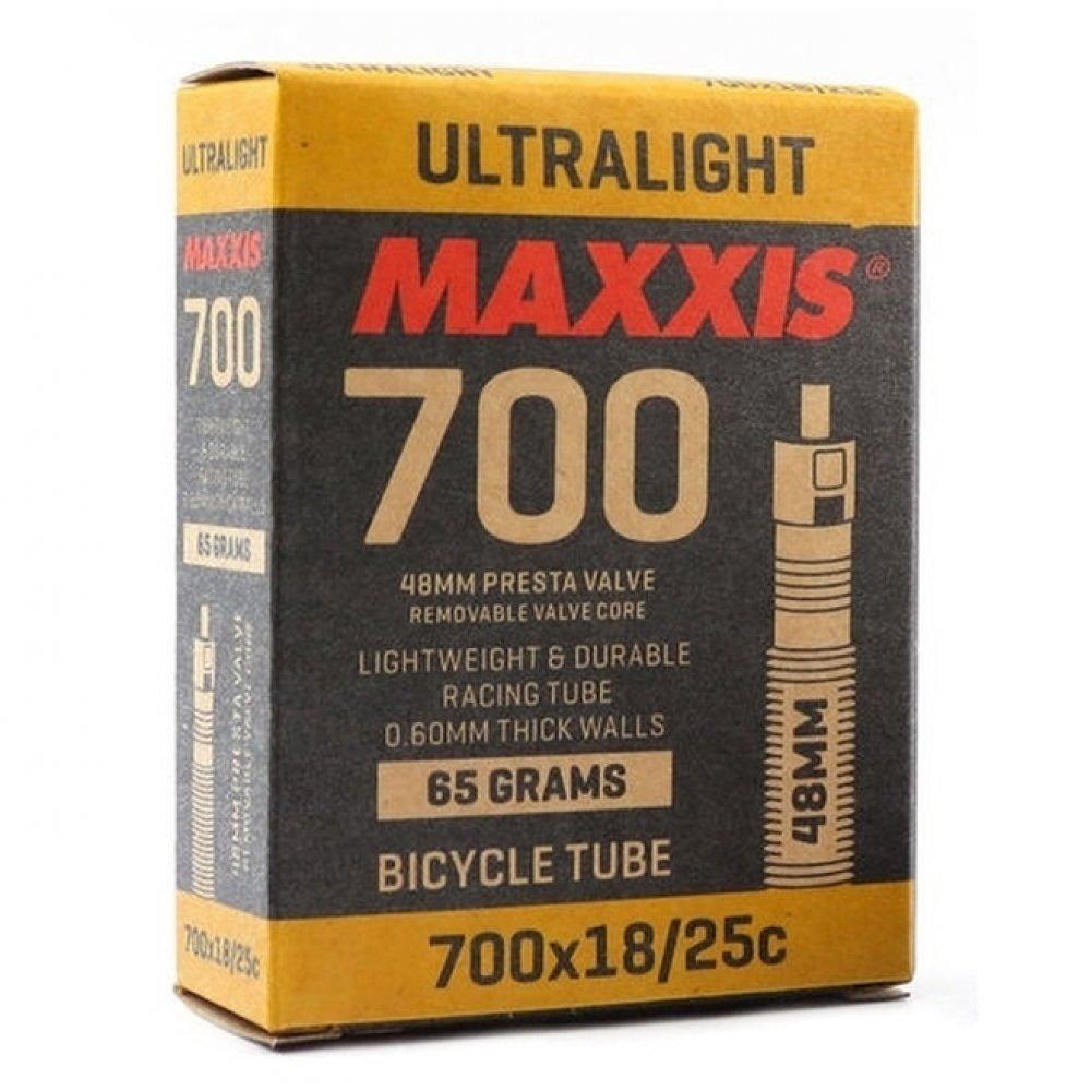 f492275cd Câmara de ar Maxxis UltraLight 700x18 25c   Bike Center