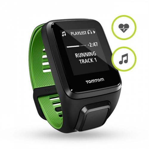 Relógio TOMTOM Runner 3 Cardio + Music