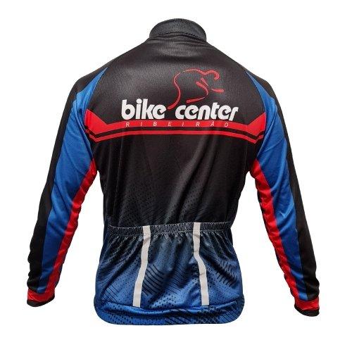 Camisa Ciclismo Masculina Manga Longa Bike Center Ribeirão 2022