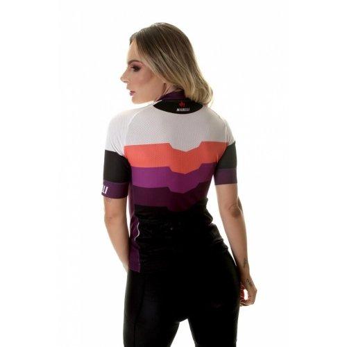 Camisa Feminina Ciclismo Marelli Donna Barrada