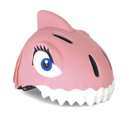 Capacete Infantil Shark Pink Crazy Safety