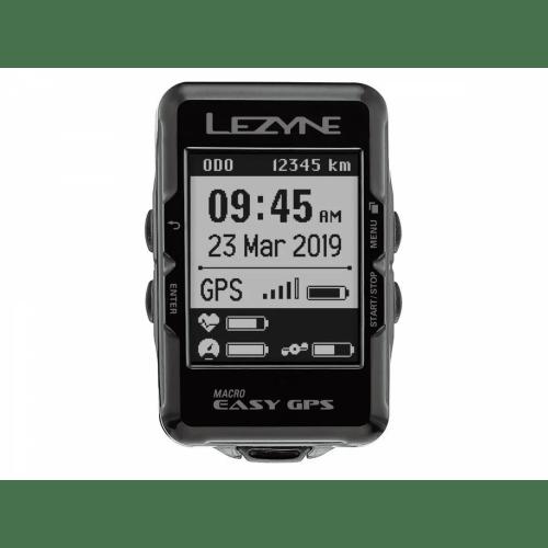 Ciclocomputador GPS Lezyne Macro Easy