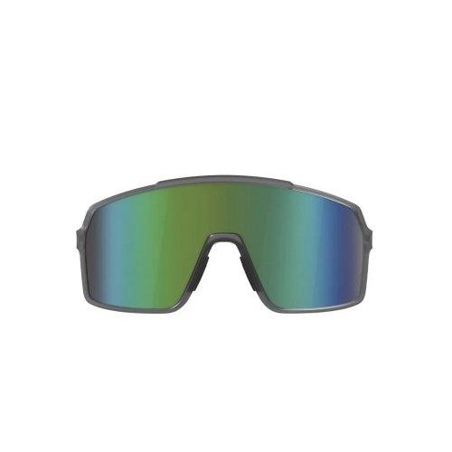 Óculos Ciclismo HB Grinder Smoky Quartz Green Chrome