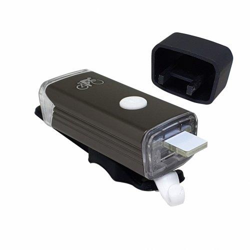 Farol Machfally USB 180 Lúmens