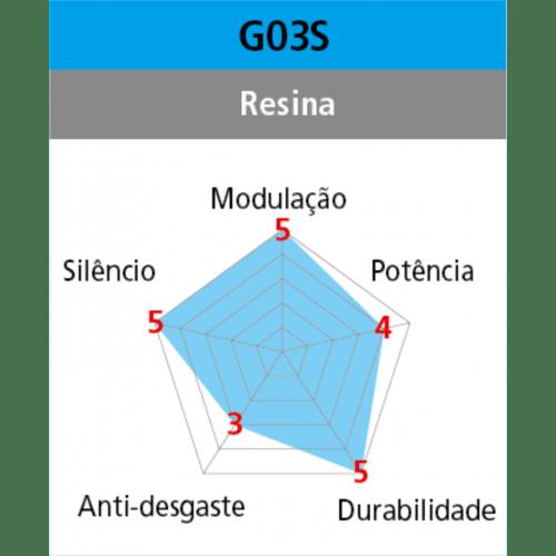 Pastilha Freio Shimano Resina Deore XT SLX G03S
