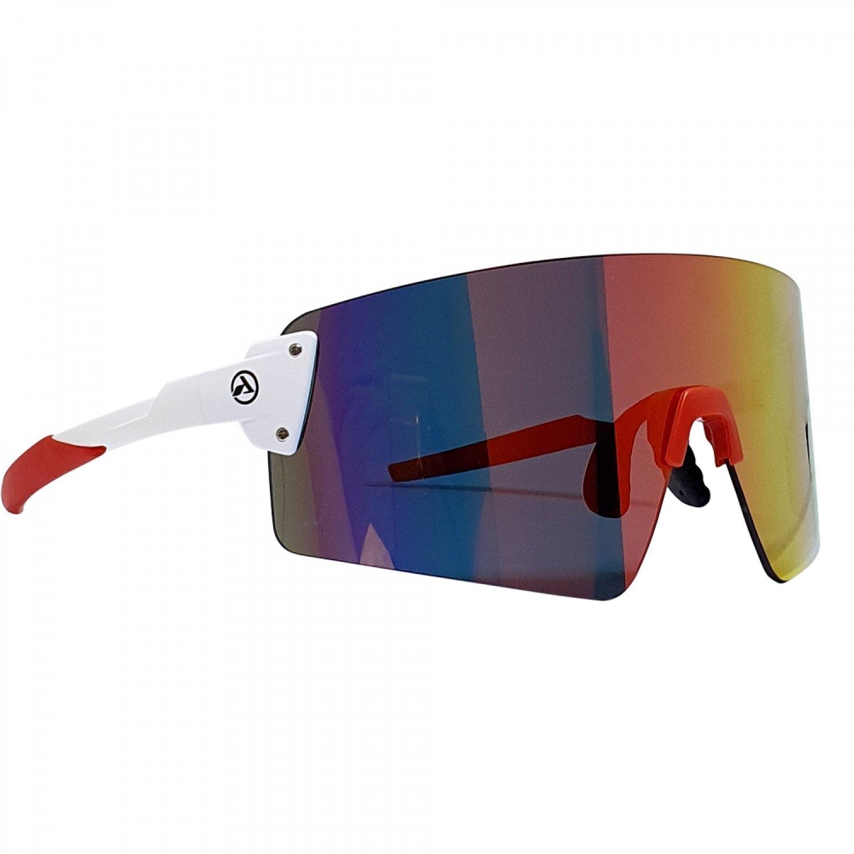 Óculos Absolute Prime EX Branco e Vermelho | Bike Center