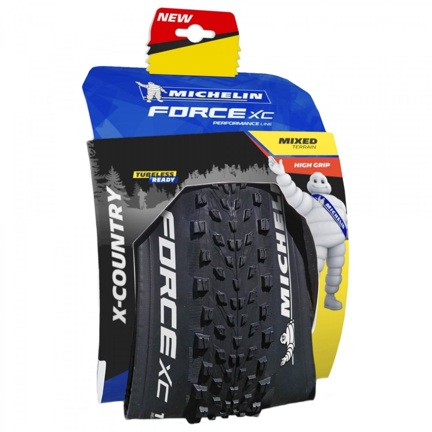 Pneu Force XC Competition 29x2.25 Tubeless Ready Michelin