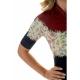 Camisa Feminina Ciclismo Marelli Donna Floral